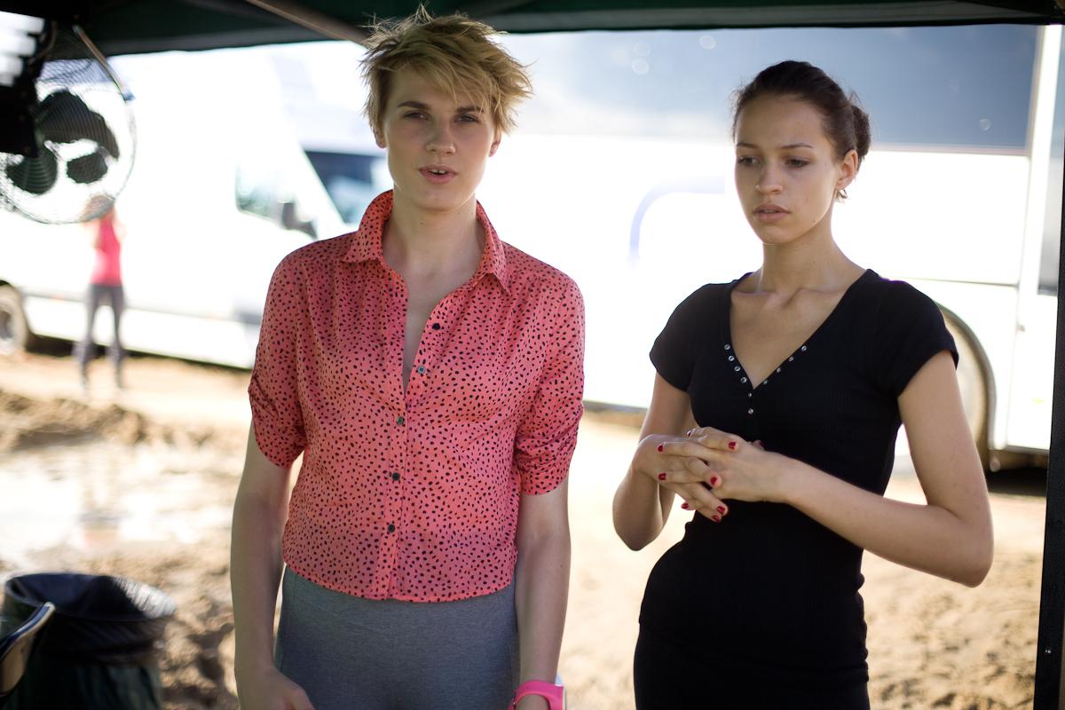 Michalina i Ania